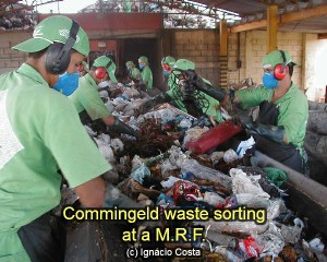 Mrf waste picking