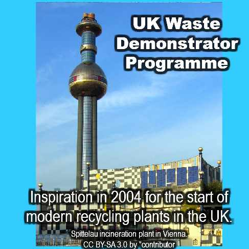 waste demonstrator programme demonstrator projects signed