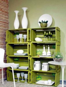 Image illustrates furniture recycling ideas and tips.